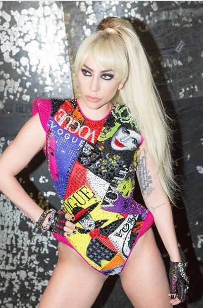 Retrosexual argentina lady gaga