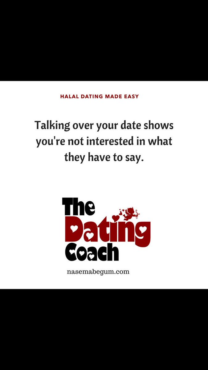 Nasema Begum- Halal Dating coach on Twitter:
