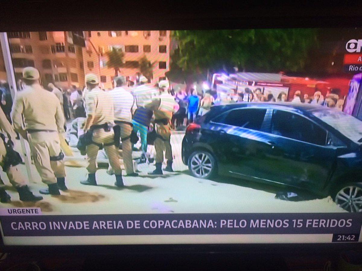 Que acidente terrível em Copacabana agor...