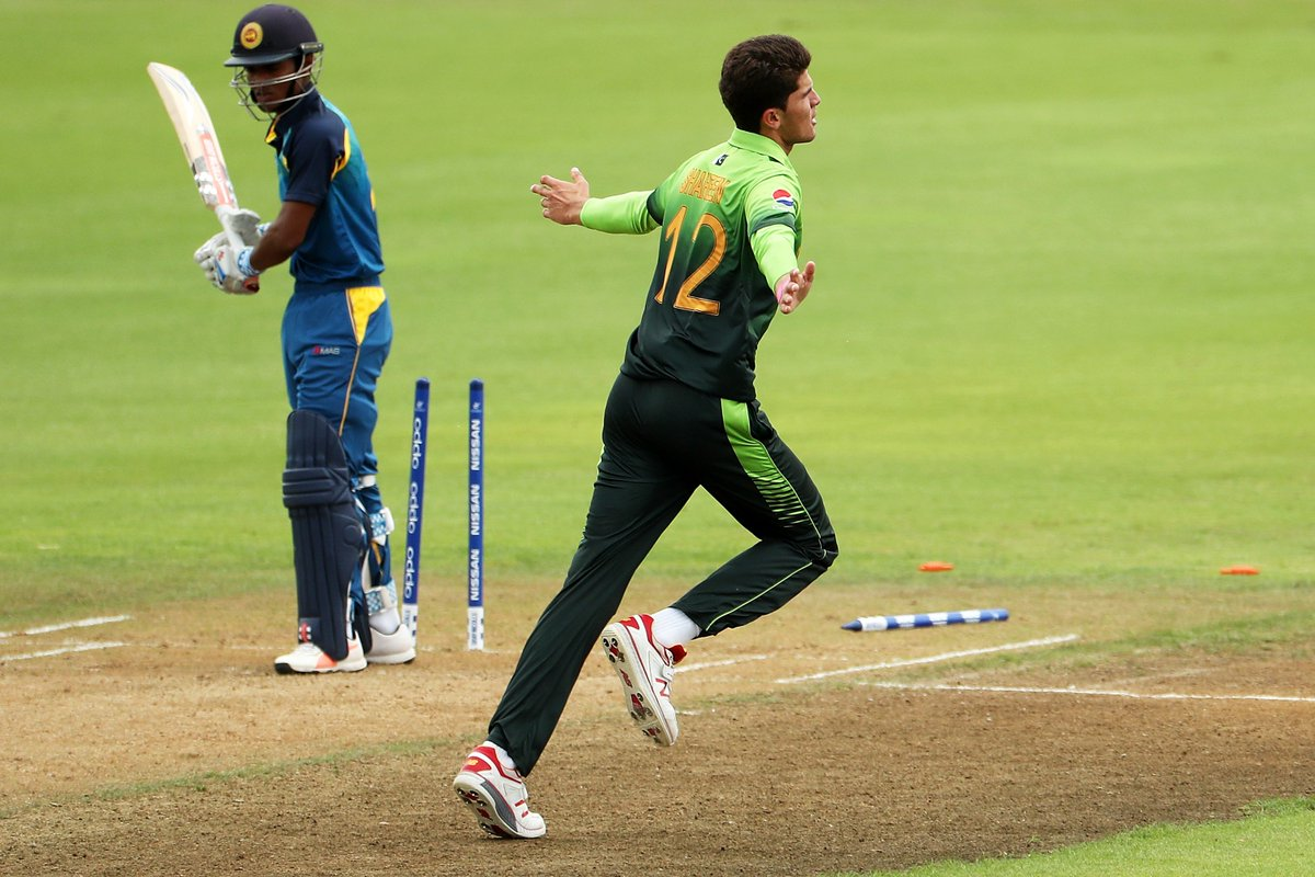Pakistan bowl Sri Lanka out for 188 in the Under-19 World Cup
