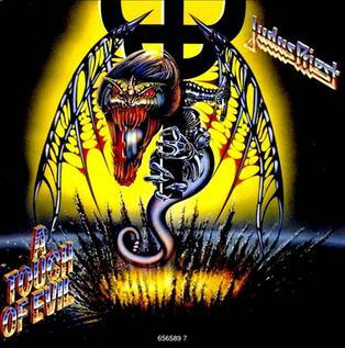 #NowPlaying Touch of Evil from #JudasPreist 1990 album #Painkiller 🤘🤘 https://t.co/unhbnmAC2t