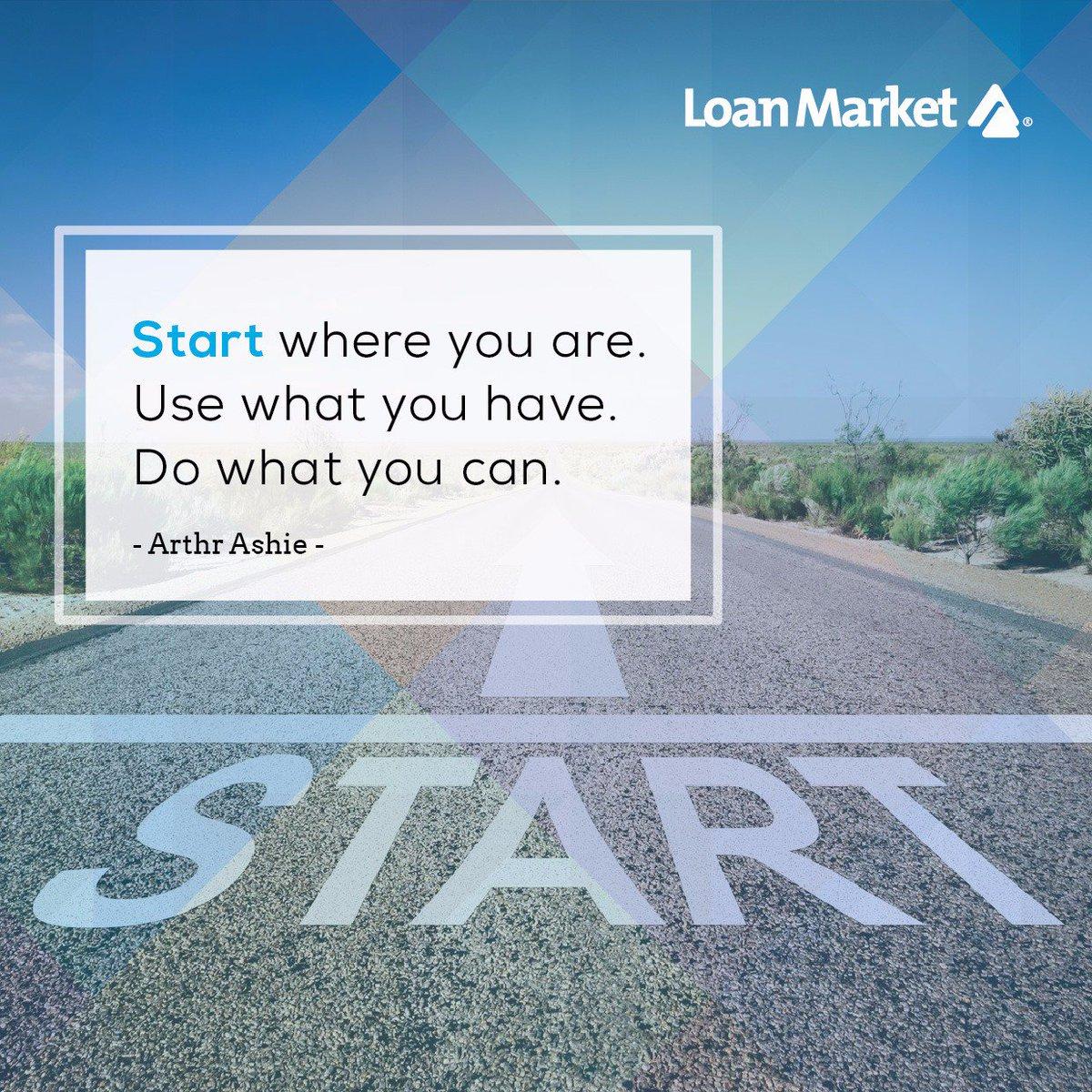 Good Morning my dear friends!  Sari's quote of the day!  Start where you are.  Use what you have.  Do what you can.  Mulai dari mana Anda berada. Gunakan apa yang Anda punya Lakukan apa yang Anda bisa.  Have a fantastic & blessed Friday friends #loanmarketindonesia pic.twitter.com/sYB0tSW3hl