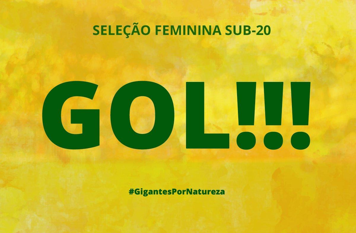 GOOOOOOOOL! #FemininaSub20 abre o placar...