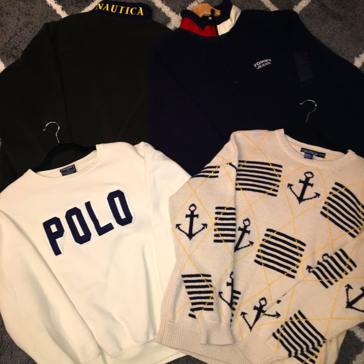 13f73f953 ...  18 Nautica-L  20 Polo-L  18 Tommy Hilfiger-XL  20 Chaps-SOLD VINTAGE  HOUSTON ROCKETS AND SUPREME GUESS ALSO AVAILABLE!pic.twitter.com QTmrpv0IEG