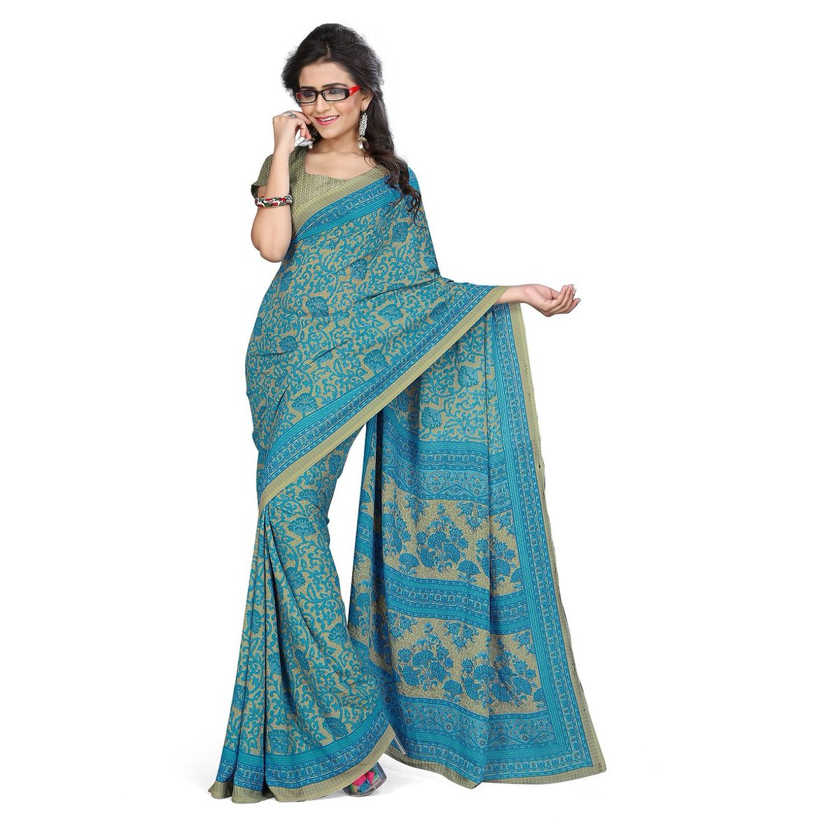 Goodfeel uniform saree on twitter httpstqojfahqgiw goodfeel pattern floral printed fabric crepe length 630 meter with blouse piece used as school teacher uniform sareehotelhospitalcorporate thecheapjerseys Gallery