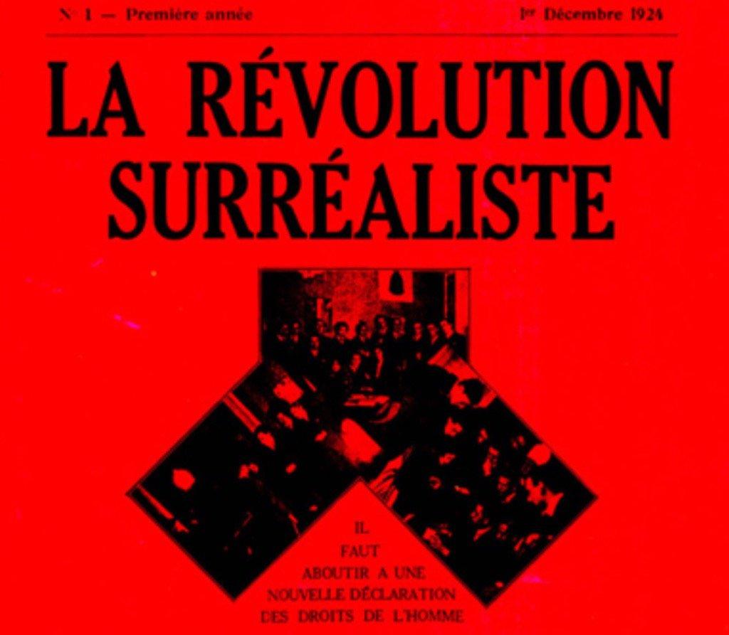 RT @LeynerMark: Spank me with a rolled-up copy of Andre Breton's La Revolution Surrealiste. https://t.co/1L6epLdq4E