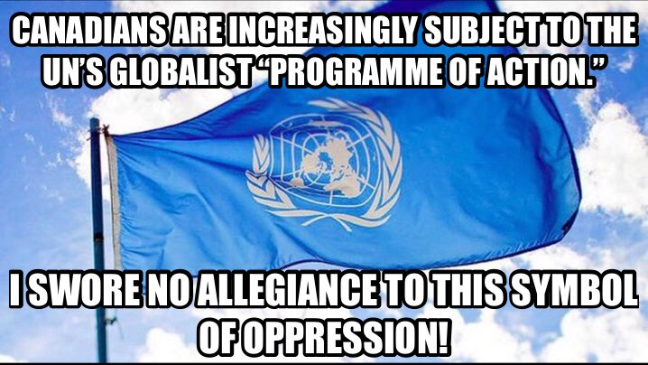 RT @CommonSenseTory: UN :- Unlected, unaccountable, #Globalist #NWO. #cdnpoli #tcot  https://t.co/E6hOA8qvRR https://t.co/1H8CMC7xcn