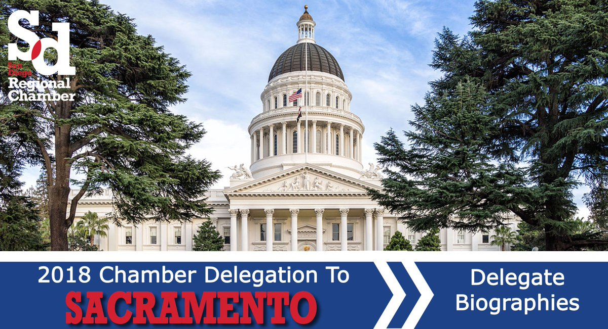 It is up to us to make sure that our leaders in Sacramento understand how to help #businesses grow by making our voices heard on the issues that are pertinent to our mega-region.   Join us on this year's #Leadership Delegation trip. Early bird ends 2/1. https://t.co/eNEGT1roT4