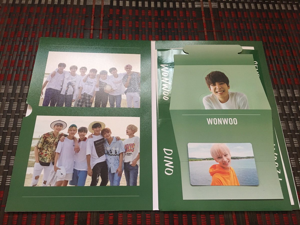 My green version of teen, age album just...