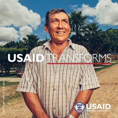 Do you have a powerful USAID story? Share your story using the #USAIDTransforms hashtag.
