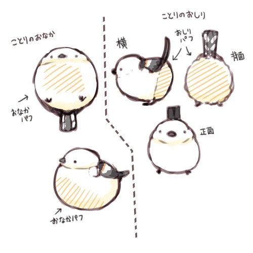 「ことりのおなか」とか「ことりのおしり」って名前で小鳥型でおなかやおしりでポンポンするファンデーションパフ 丸くて持ちやすそう あと色とか模様とか口ばしの形を変えて別の鳥でバリエーション作れそう スズメとかメジロとか