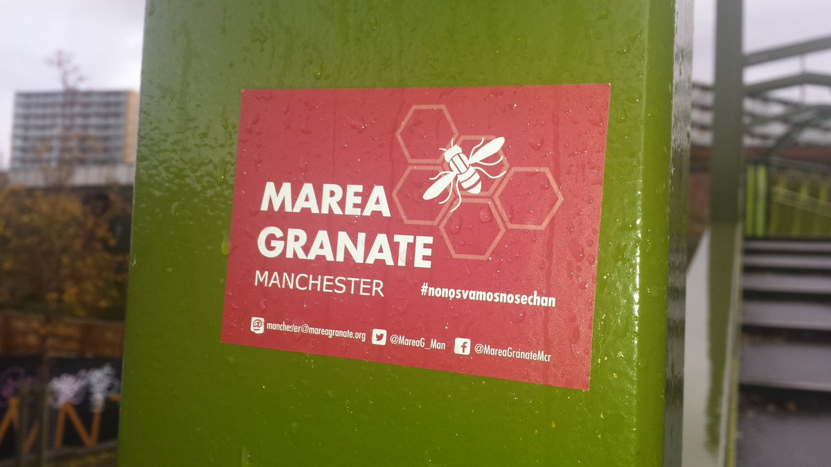 The bee as part of a @MareaGranate  stic...