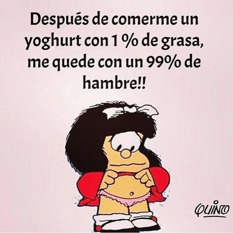 Genial  Mafalda, como siempre va cargada...