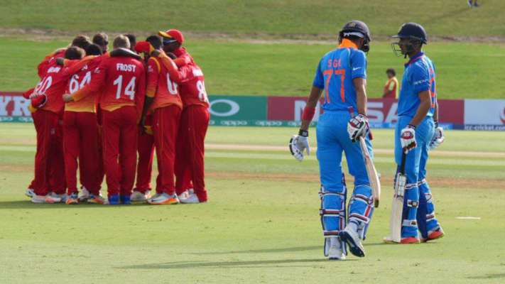 #under19worldcup : #India Defeat #Zimbabwe by 10 Wickets. #MangoNews https://t.co/Ifu84Aw0qK