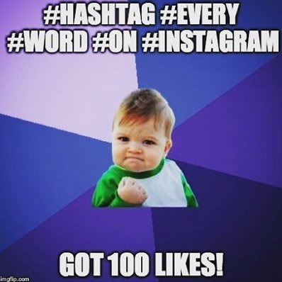 An Instagram funny! We are feeling playful today and make this! Do you #hashtag #every #word #doingitwrong https://t.co/DNJnTVHDz3