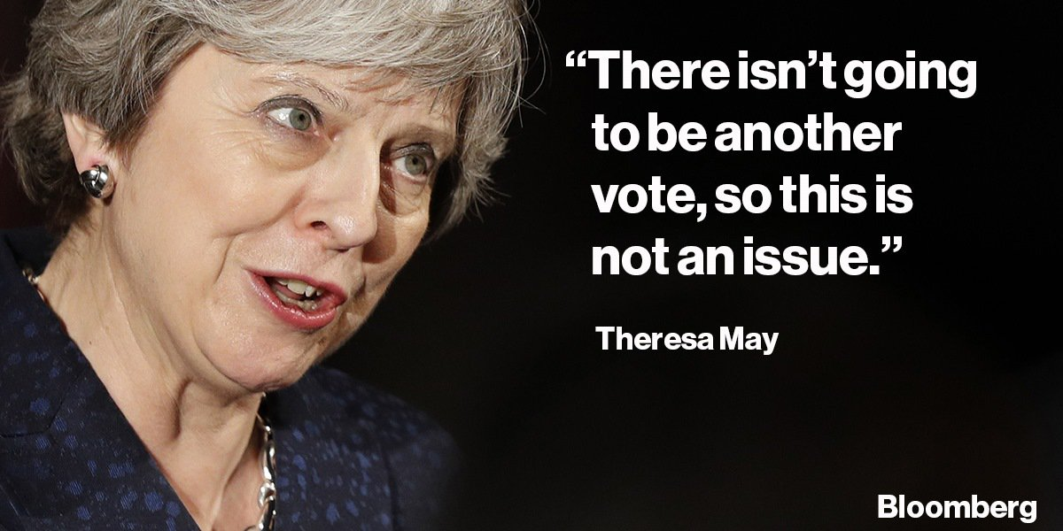 Theresa May won't say how she'd vote in another Brexit referendum - plus Friday's other headlines https://t.co/eU3RZIz6n2