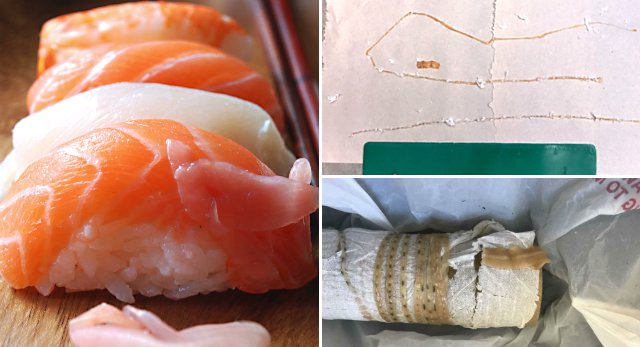 Sushi lover pulls 5-foot tapeworm from his body, doctor says. https://t.co/PoUyW6LWbH