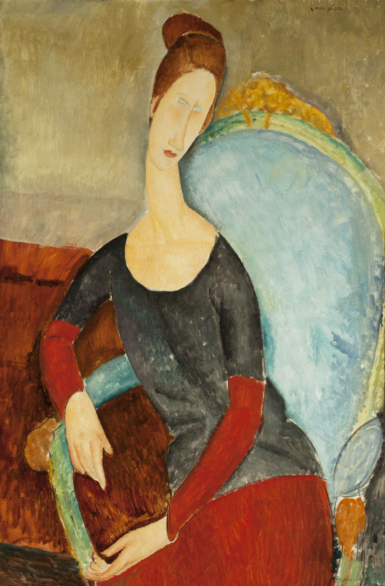"""Tate on Twitter: """"'When I know your soul, I will paint your eyes' - Amedeo  #Modigliani See the artist's iconic portraits at Tate Modern until 2 Apr  2018. Amedeo Modigliani, Jeanne Hébuterne"""
