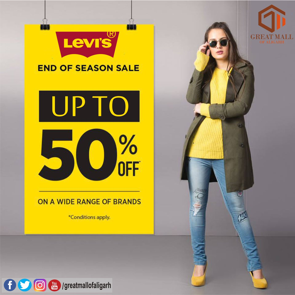 6d276e1839 Come down to their store at GREAT MALL of Aligarh