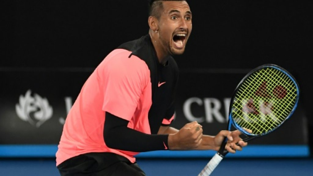 Kyrgios topples idol Tsonga in electric clash at Australian Open https://t.co/GSc2ttDR9i