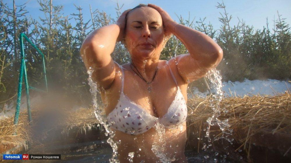 Моя тетя купается видео