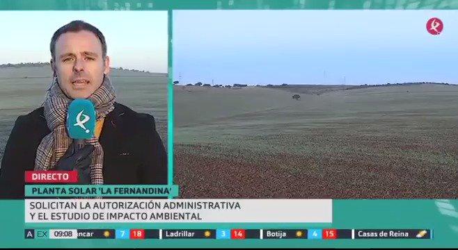 ☀️Nuevo proyecto fotovoltaico en #Extremadura. La planta