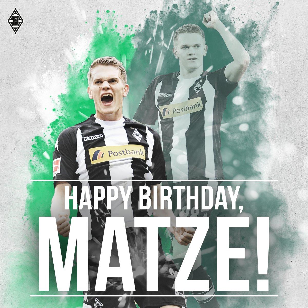 He's only 24!? Happy birthday, @MatzeGin...