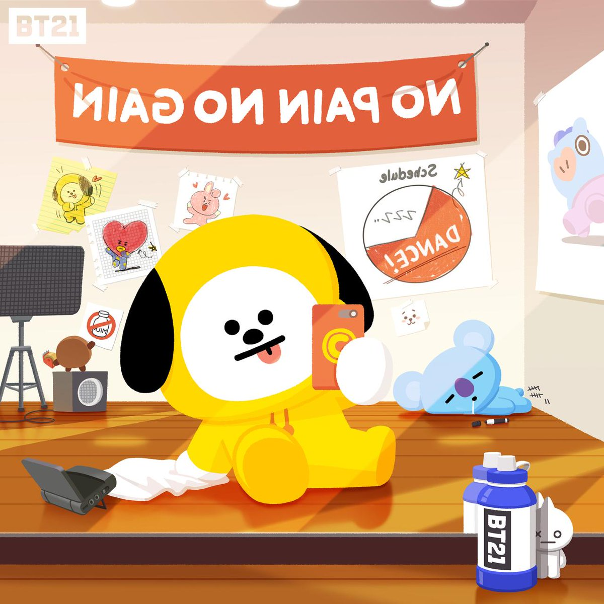 BT21's photo on #selfie