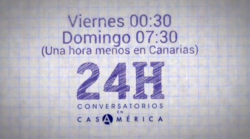 Empieza #Conversatorios en @casamerica E...