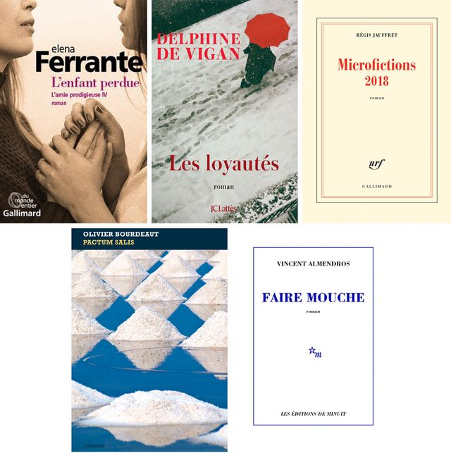 Elena Ferrante, Delphine de Vigan, Régis Jauffret… que lire cette semaine? Les conseils du Masque & la Plume ► https://t.co/wEFOMc0QnD