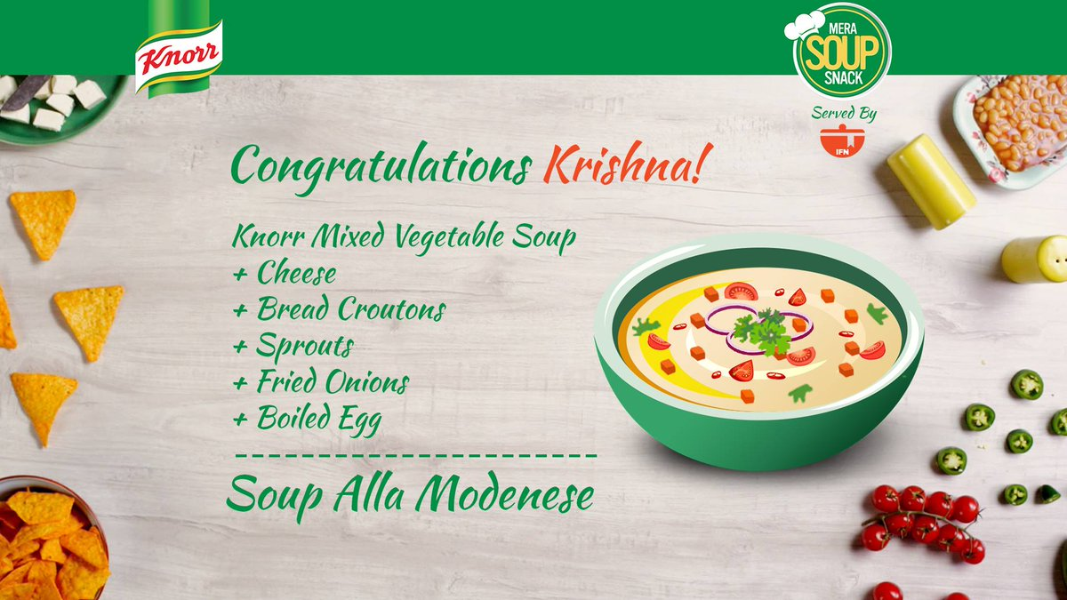 India food network on twitter krishna is the second winner of the contest 3 more entries with the maximum votes will win big basket vouchers worth rs 10000 enter now forumfinder Choice Image