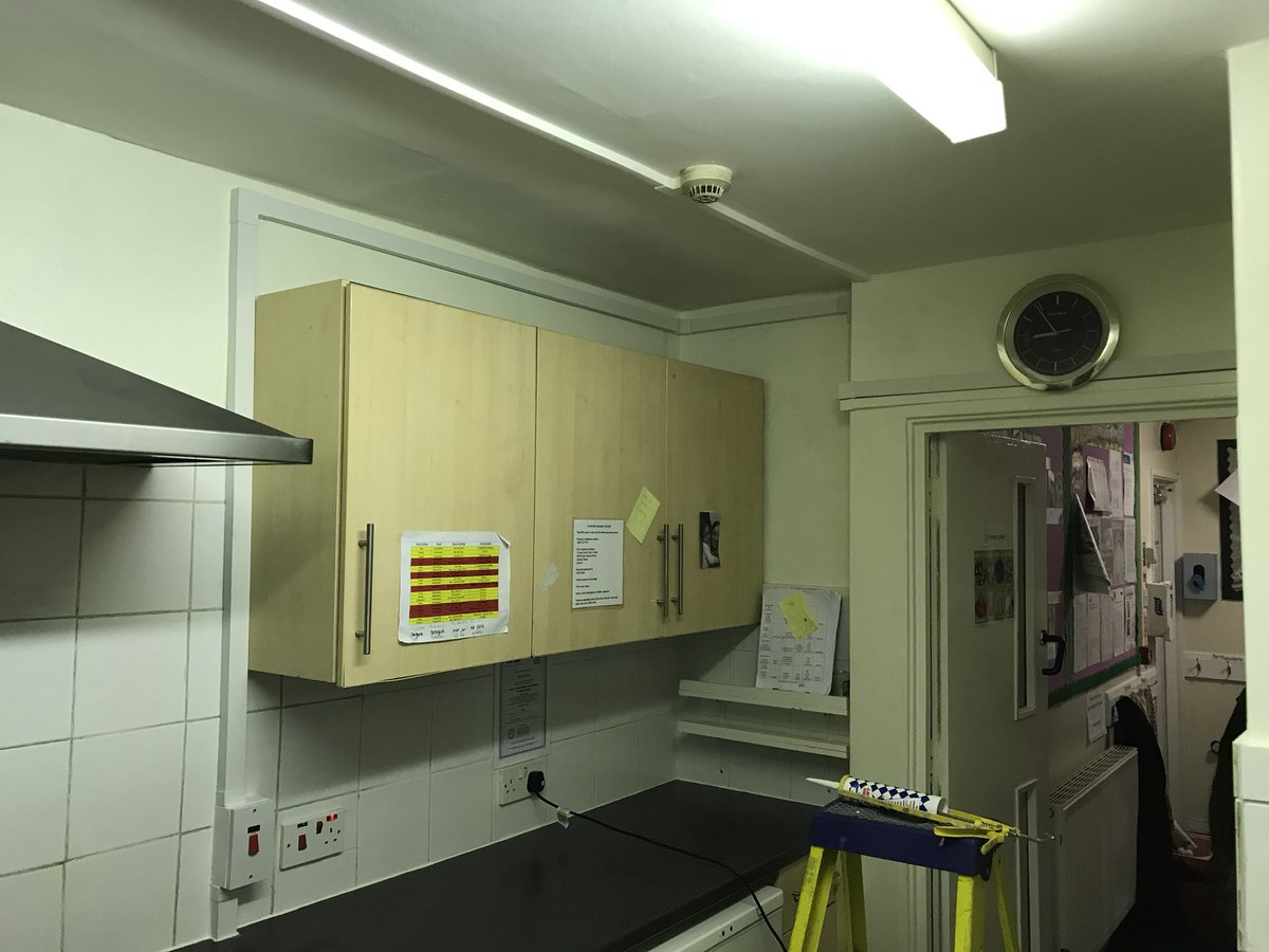 Linked Electrical On Twitter Electric Cooker Circuit Installed Over Night While Nursery Was Closed The New Connected This Morning Just In Time For Start Of Day