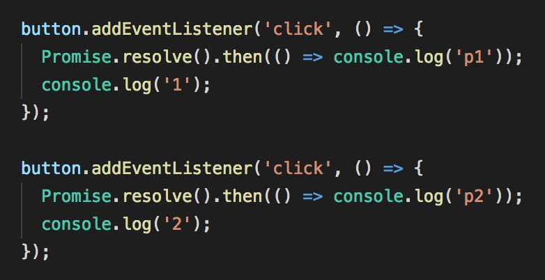 Two event listeners in JavaScript