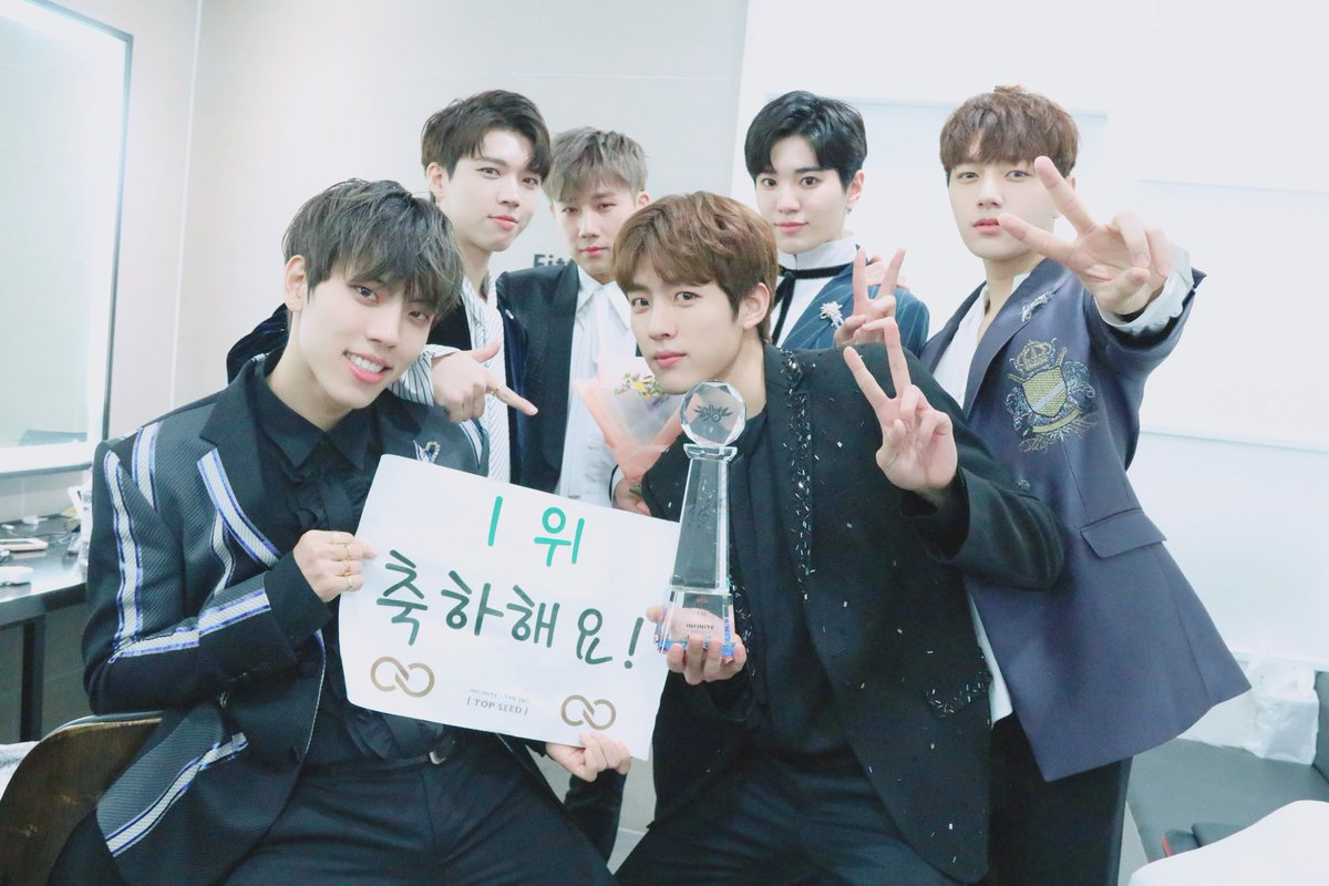 INFINITE Official's photo on 뮤직뱅크