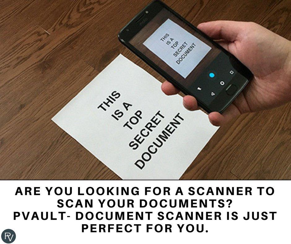 PVault-Document Scanner (@ScannerPvault) | Twitter