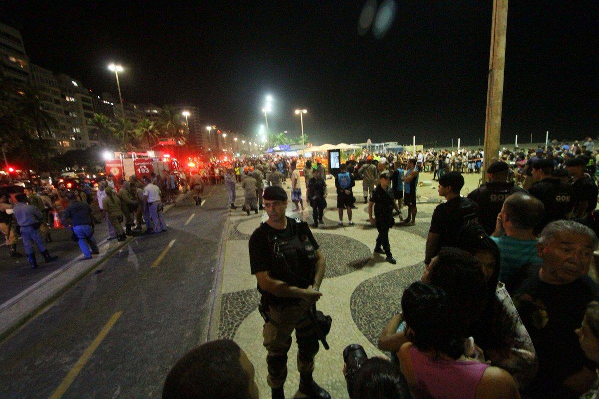 Motorista que atropelou 17 em Copacabana não havia ingerido bebida alcoólica, aponta exame https://t.co/LKU7JFt5qi #G1Rio
