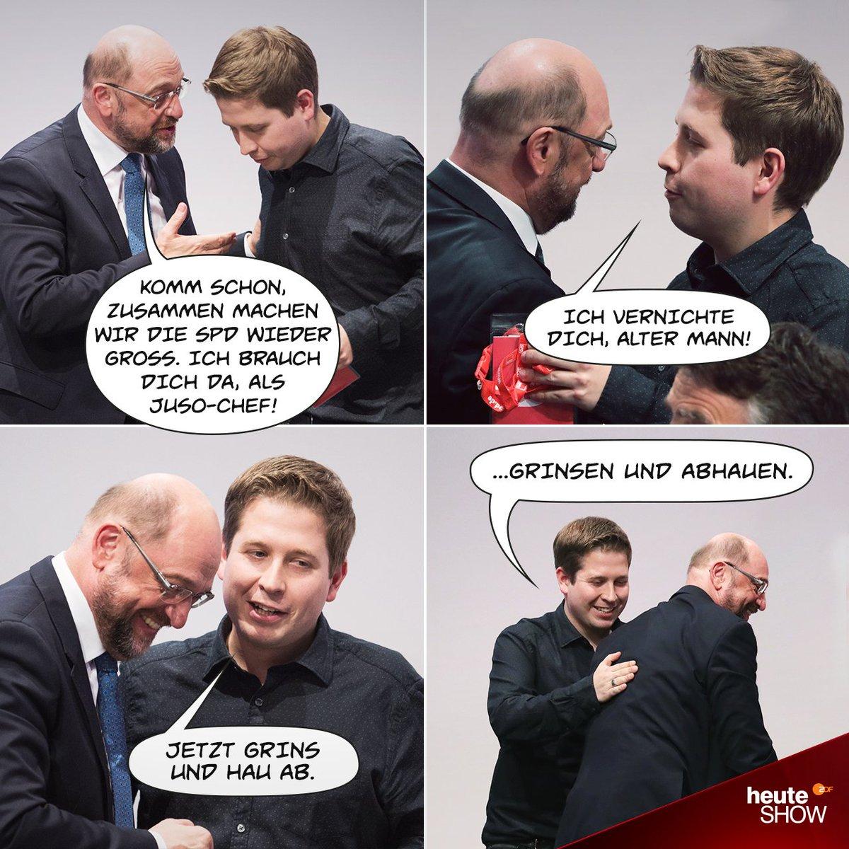 Kevin allein im Willy-Brandt-Haus. #SPD...