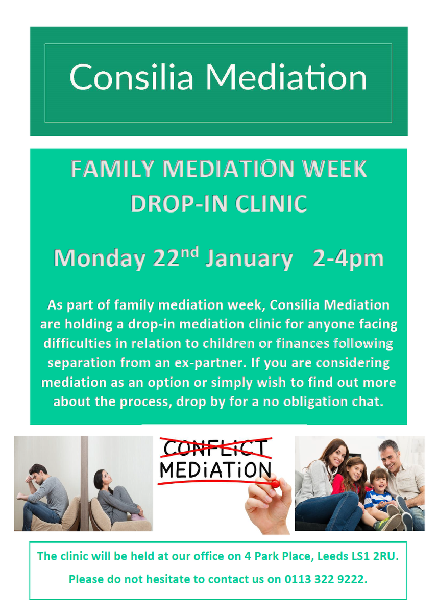 unit 9 family mediation What is family mediation mediation is a process used to help people reach agreements with the help of a neutral, trained mediator the mediator works with people to discuss all of the issues related to their family conflict, to explore possible options for settlement, and to identify solutions that best meet the needs of each person involved.