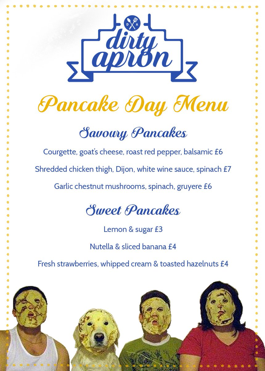 Already planning our #PancakeDay menu, are we missing any favourites?