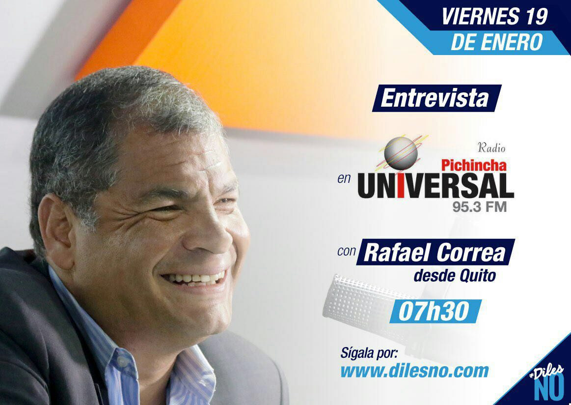 Rafael Correa's photo on Pichincha
