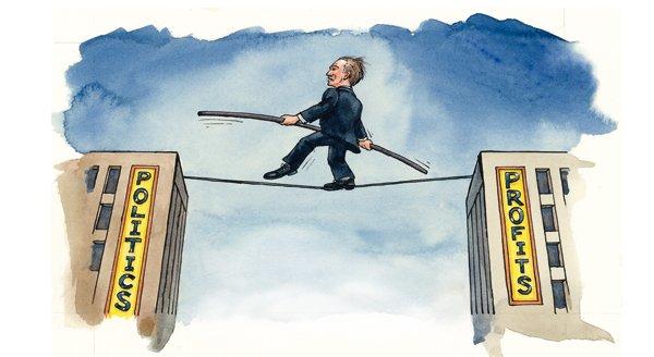 Directivos y políticos: las empresas se politizan; Patrick Foulis @TheEconomist tiempodehoy.com/mundo/el-mundo…