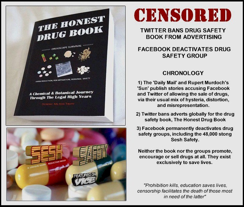 The Drug Users Bible on Twitter: