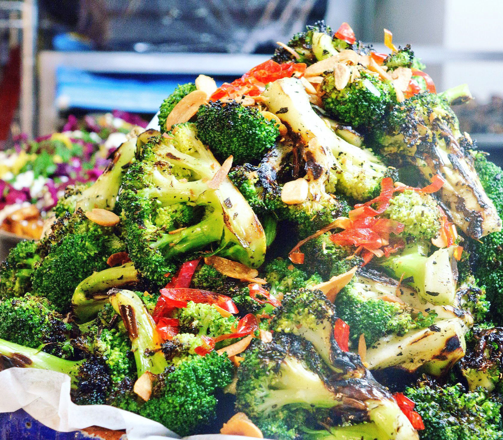Ottolenghi On Twitter Chat Grilled Broccoli With Chilli And Garlic The One Dish That Never Left The Ottolenghi Menu 15 Years Broccoli