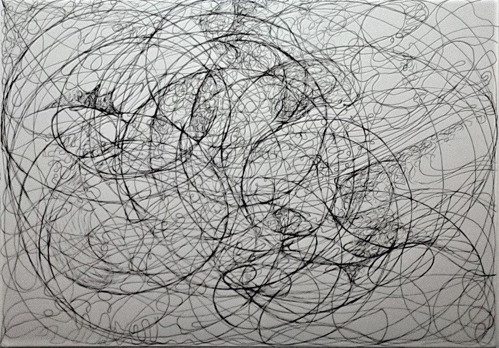 Pen&amp;ink A5 paper 2016  TROILES  #news #art #fine art #modernart #blackandwhite #instagram #classicalmusic #ballet #science #astronomy #kunst<br>http://pic.twitter.com/pi0v1n62zd
