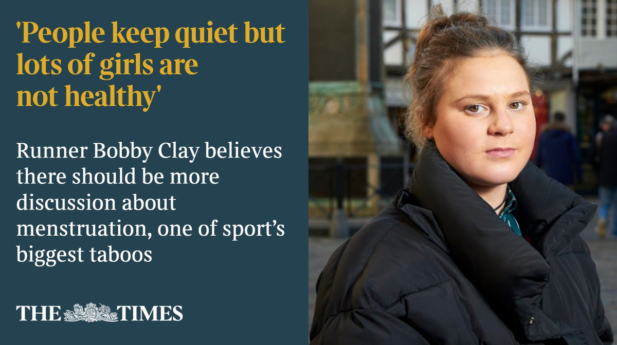 .@alansmith90 meets @bobbsclay, who details her story of undereating, overtraining and the distressing reality that teenage girls are putting their health at risk in search of unattainable physical results https://t.co/n6KxDmMKAg