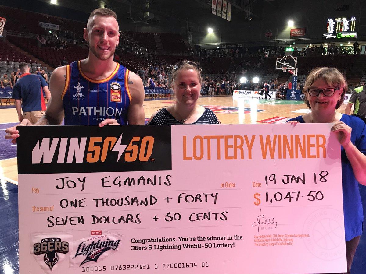 Win 50-50 on Twitter: