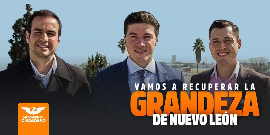 Este es el equipo de jóvenes preparados, honestos y con capacidad para cambiar la historia de Nuevo León y México: @colosioriojas, @AgustinBasave y @samuel_garcias. https://t.co/oSbM0sUAQc