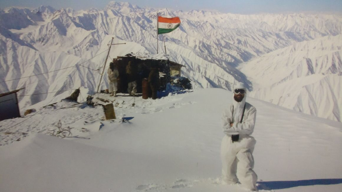 Major Gaurav Arya's photo on Tricolor