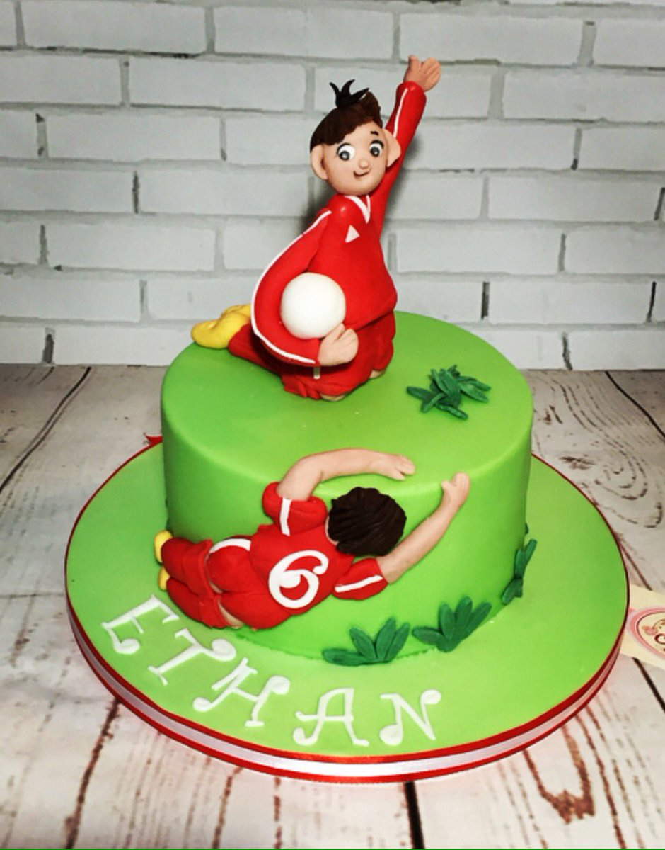 Mrs Cups Cakes On Twitter Hes Football Crazy Happy Birthday