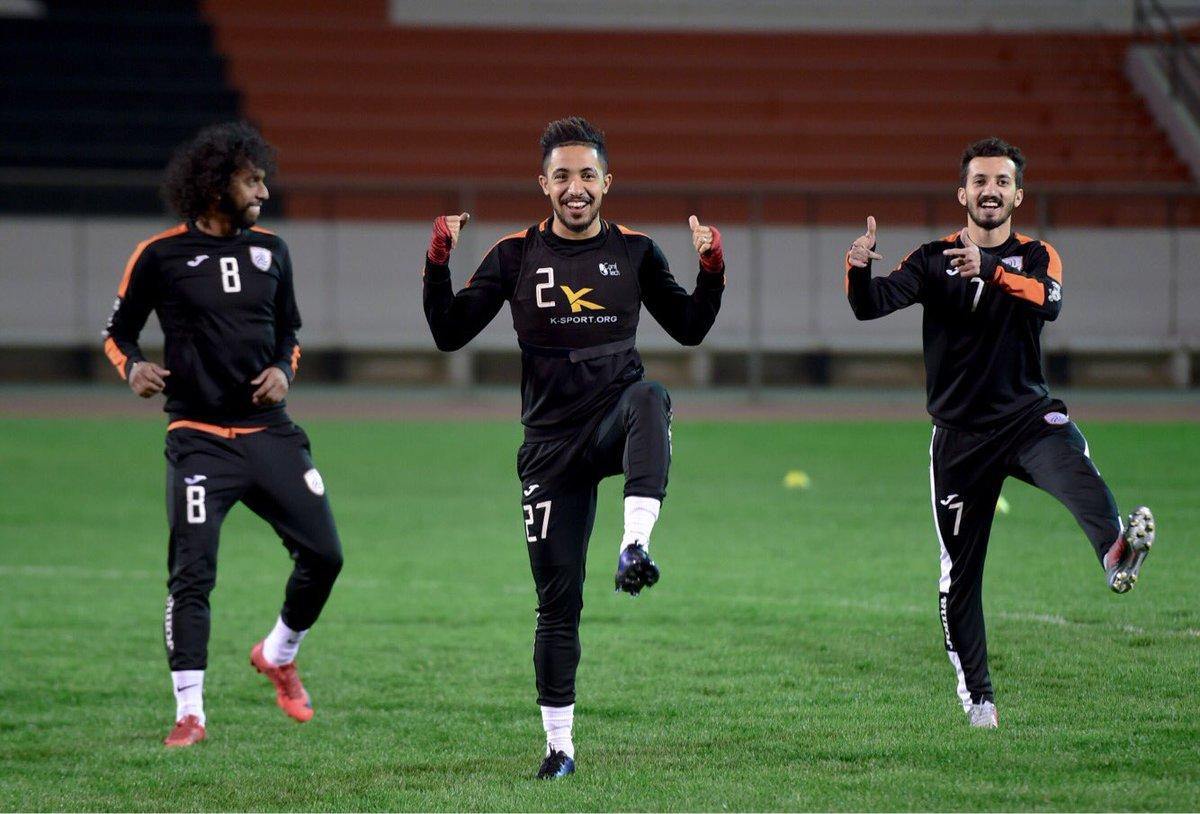 📷 شهدت التدريبات مشاركة المحترف الليبي م...